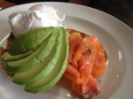 Poached Eggs, Salmon and Avocado
