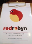 Red Robyn Menu